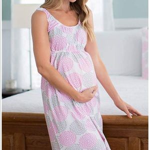 🎉2xHP🎉 NWT! Maternity Nursing Nightgown Dress